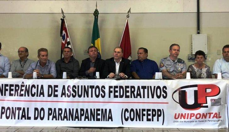 GRANDE PÚBLICO NA 2ª CONFERÊNCIA DE ASSUNTOS FEDERATIVOS DA UNIPONTAL