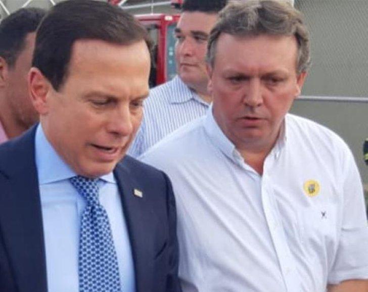 Presidente da Unipontal acompanha visitada do governador João Dória
