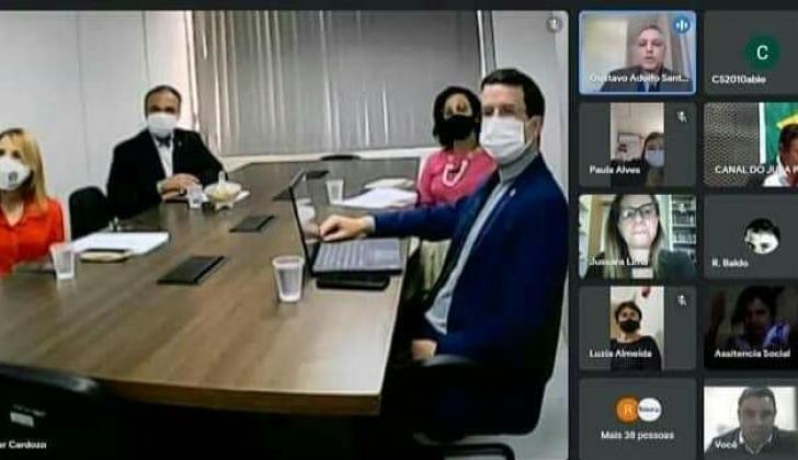 Unipontal faz reunião com Ministério da Mulher