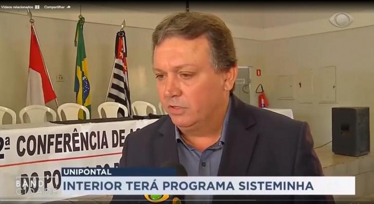 BAND INTERIOR DESTACA 2ª CONFERÊNCIA DA UNIPONTAL
