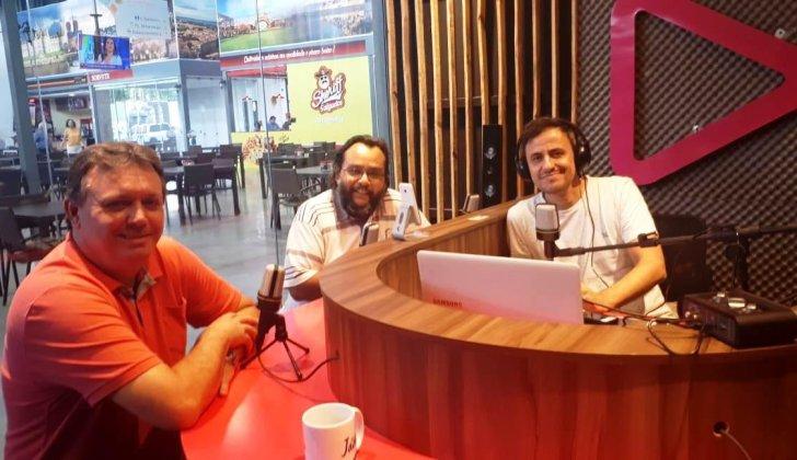 Prefeito Jorge Duran é entrevistado pela #RedaçãoVitrine em Presidente Prudente