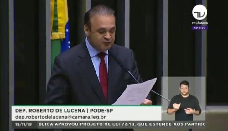 DEPUTADO ROBERTO DE LUCENA ATENDE PEDIDO DA UNIPONTAL