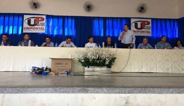 Unipontal reúne três Deputados e Secretário de Estado de Esportes em Bernardes