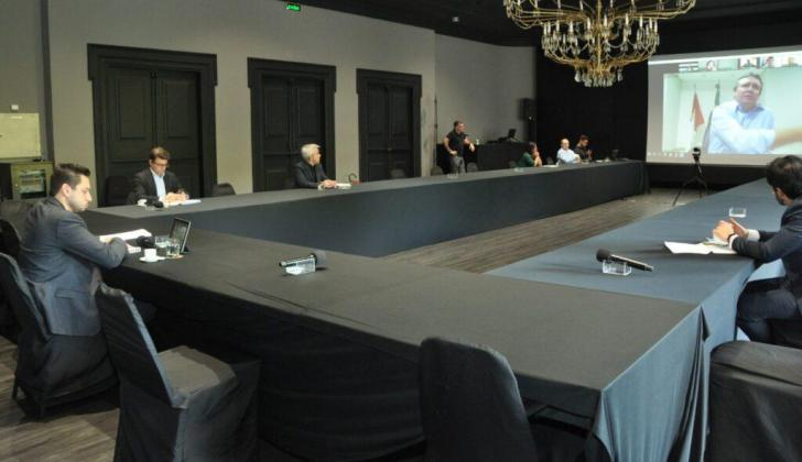 Prefeitos da Unipontal debatem em vídeo conferência sobre covid-19