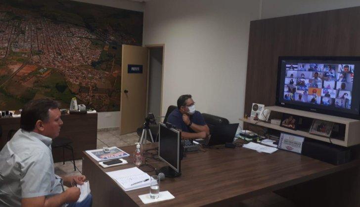 Unipontal protesta contra falta de palavra na videoconferência com Governador