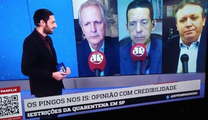 """Tema levantado pela Unipontal é assunto no programa """"Nos Pingos no Is"""" da Jovem Pan"""