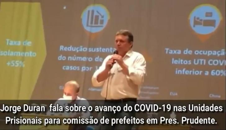 Unipontal defende plano contra covid-19 no sistema prisional